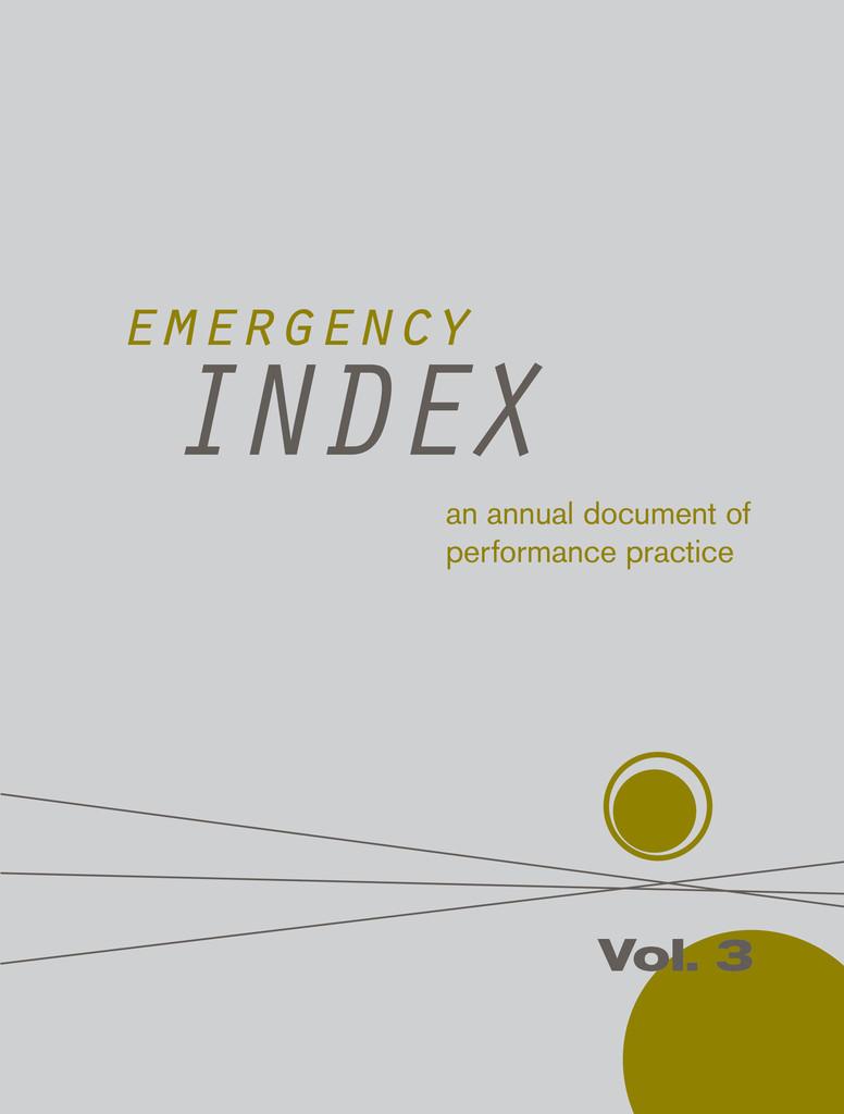 Marita Bullmann - emergency index vol3