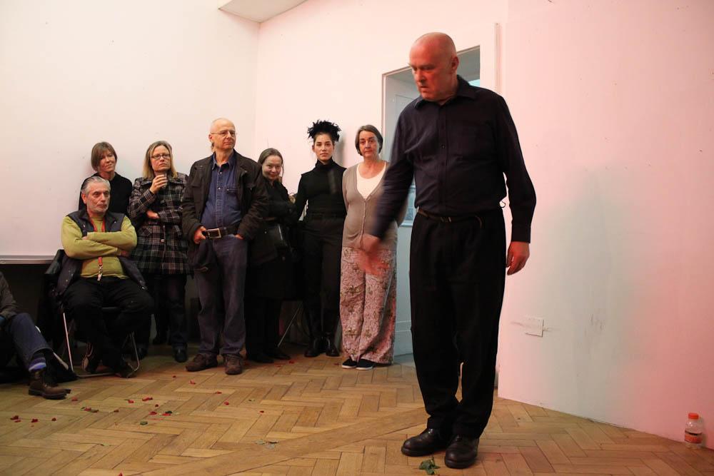 Boris Nieslony Solo, Artclub, Cologne, 01.04.2011, Foto Nora Debus