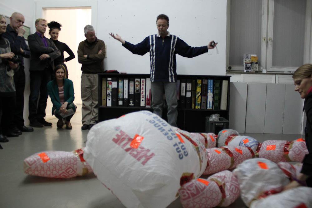 Parzifal Solo, Artclub, Cologne, 01.04.2011, Foto Nora Debus